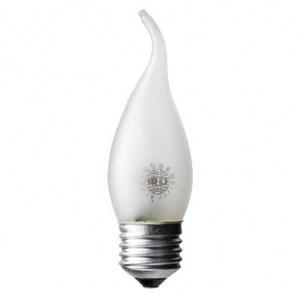東亞 120V 42W 拉尾型磨砂鹵素燈泡