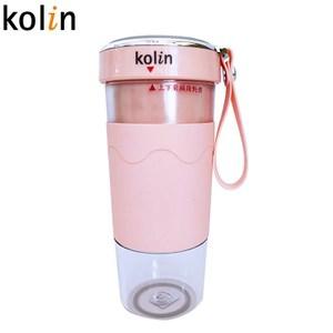 Kolin歌林無線磁吸式充電搖搖杯果汁機-粉色 KJE-HC15U-P
