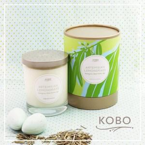 【KOBO】美國大豆精油蠟燭-檸檬草神話-330g/可燃燒80hr