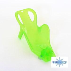 美國BeBeLove 多段式新生兒洗澡椅-透明綠