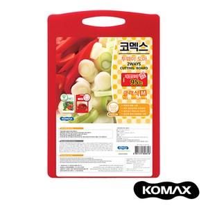 韓國KOMAX 抗菌銀離子頂級兩用砧板(中)中