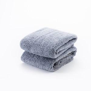 HOLA 超細纖維浴巾二入組灰