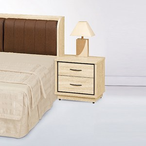 【YFS】布萊迪原切木床頭櫃-54x40x53cm