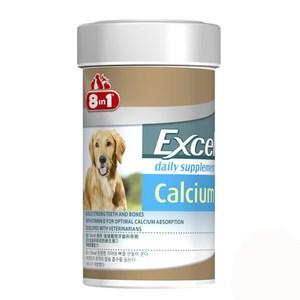 8in1 美國 Excel成幼犬活力鈣片 155錠 X 1罐