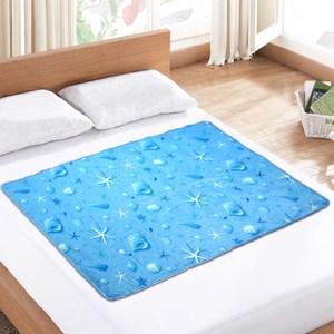 [特價]棉花田 極致酷涼冷凝床墊-3款可選(90x140cm)海洋之星