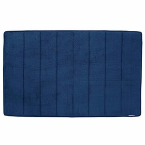 Microdry 舒適記憶棉地墊43.2x61cm 深海藍色