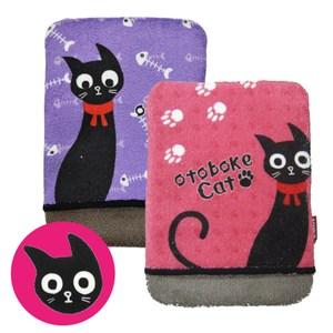 日本製造  黑貓纖維液晶螢幕擦拭布(粉紅色/紫色 可選)K-016483