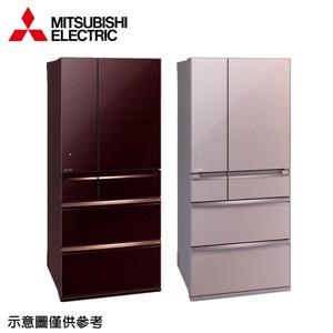 【MITSUBISHI三菱】705公升變頻六門冰箱MR-WX71Y水晶粉