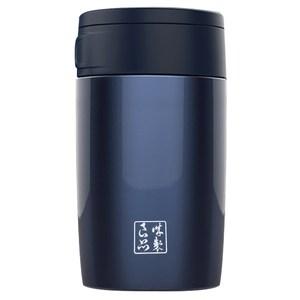 魔法瓶嚴選 304不鏽鋼琺瑯真空燜燒罐600ml(藍色)