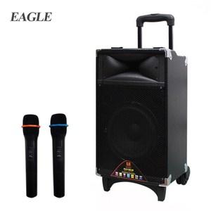 EAGLE 行動藍芽拉桿式擴音音箱(ELS-3008)-無線麥克風版