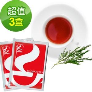 【樸優樂活】有機路易波斯綠茶(20包/盒x3盒組)