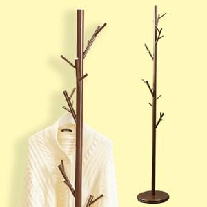 穩重型樹枝造型衣帽架(咖啡色)