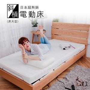 【TAHAN】無段式雙馬達斜槓居家電動床(床片型)
