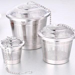 【PUSH!廚房餐具用品】304不鏽鋼滷料茶葉過濾器滷包器(大號一入)D77
