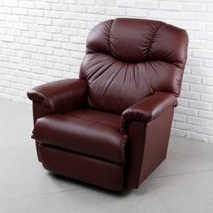 La-Z-Boy 固定式休閒椅 11T515 半牛皮 酒紅