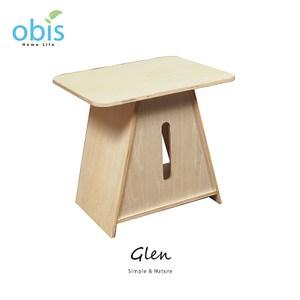 【obis】Glen木作面紙盒-椴木色