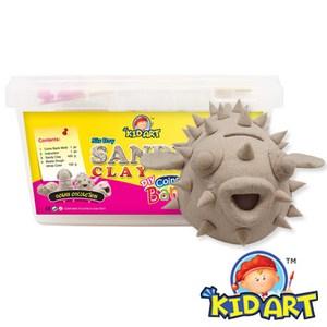 KID ART 美國創意手作黏土沙雕黏土(小胖河豚)