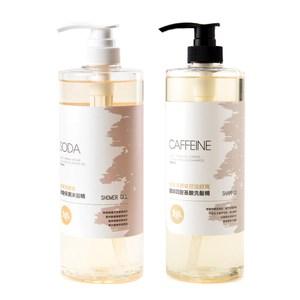 (組)檸檬馬鞭草控油洗髮精1000mlx1+保濕沐浴精1000mlx2