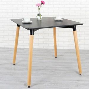 Homelike 瑟芝北歐風餐桌(沉穩黑)
