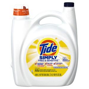 美國 Tide 濃縮洗衣膏-敏弱肌膚專用/2入箱購(138oz)