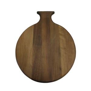 Scanwood 胡桃木圓形砧板 36x29cm