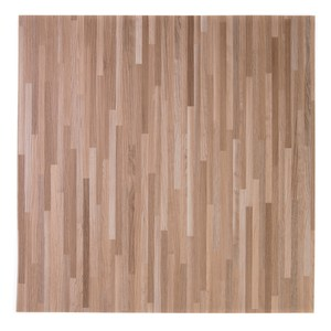 塑膠地磚 18吋 棕拼花木 型號TW-2971-8 半坪裝