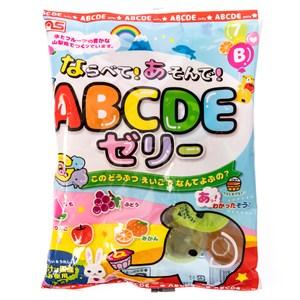 日本AS 英文字母圖案果凍