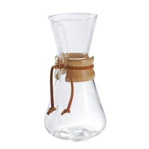 美國Chemex 經典手沖咖啡濾壺(木把.三人份)