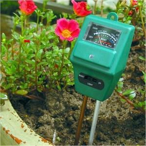 PUSH!土壤酸鹼濕度照度檢測儀(2入組)B312入組