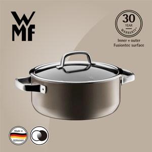 【WMF】Fusiontec 低身湯鍋 24cm 4.4L(棕銅色)