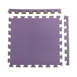 特力屋安全雙色地墊 48x48x1.4cm 4入 紫