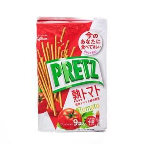 日本格力高9袋入番茄百利滋棒
