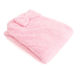Lovel 7倍強效吸水抗菌超細纖維浴裙(芭比粉)