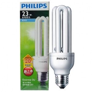 飛利浦新一代省電燈泡3U23W白光2入