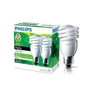 飛利浦Helix T2省電燈泡20W 黃光 2入