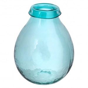 HOLA home 清透感玻璃花器 淺綠色