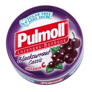 德國Pulmoll黑醋栗薄荷無糖喉糖45g