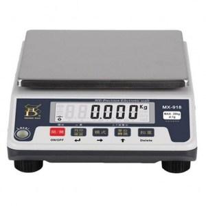 MX-918中型電子計重秤(充電型)『10kgx 0.5g』保固2年