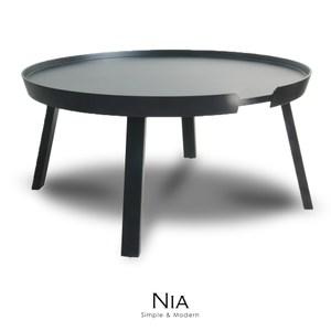 【obis】NIA尼亞邊桌-大(三色)黑色