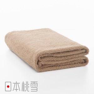 日本桃雪【居家浴巾】淺咖啡色
