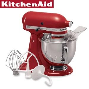 【KitchenAid】4.8公升 桌上型攪拌機(經典紅)