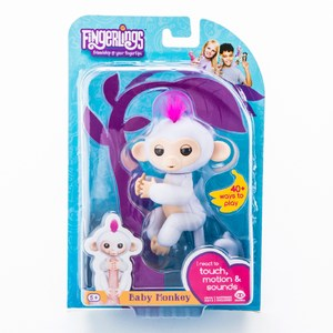 互動寵物猴 白