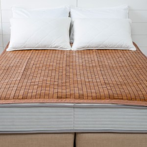經典碳化棉繩麻將竹床蓆 雙人