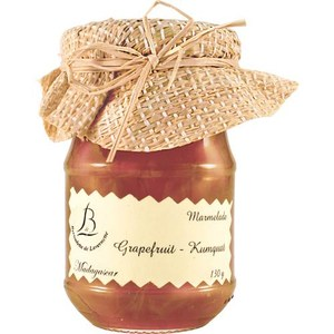 【紅島BDL法式果醬】#27葡萄柚金桔醬 120g
