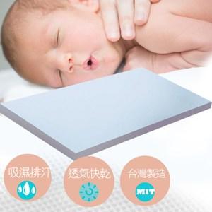 【KOTAS】防蹣抗菌透氣嬰兒床墊-藍藍單人