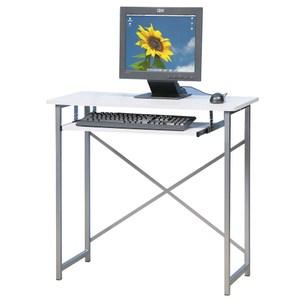 Homelike 超值電腦桌-靚白色