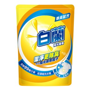 白蘭 陽光馨香超濃縮洗衣精補充包 1.6KG x 8入組