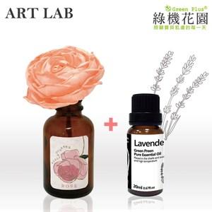【日本Art Lab香氛實驗室】典雅香氛-愛戀玫瑰+純植物精油薰衣草