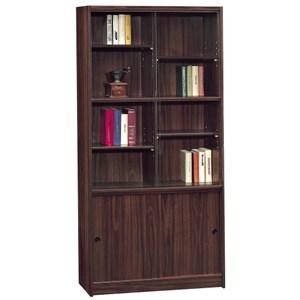 【obis】胡桃3X6尺書櫥