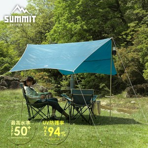 【MODERN DECO】SUMMIT戶外系列天幕抗UV帳篷- 綠色綠色